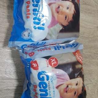 Diapers Pants Genki XL