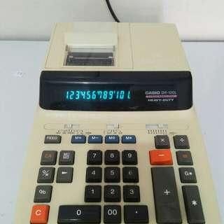 """Kalkulator Print 2 warna """"CASIO DR-120L"""""""