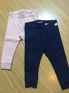Zara baby leggings (bundle)