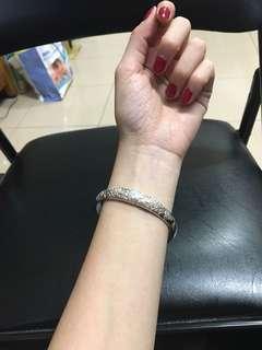 萬足銀純銀手環