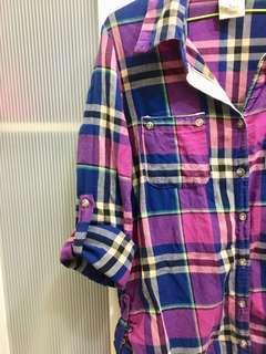 格子襯衫 外套