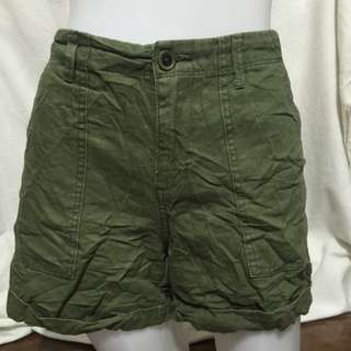 OLD NAVY army green plus size ladies walking/sexy shorts 10