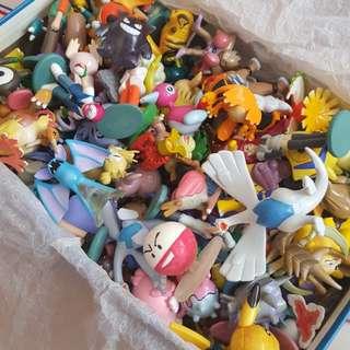 Assorted Pokemon Figurines