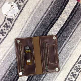 Genuine Leather Tobacco Pouch