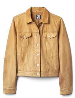 The GAP 90's leather jacket