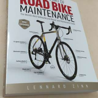 全新第五版 公路車維修寶典 Zinn the Art of Road bike maintenance