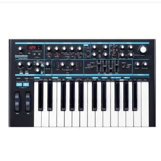 Novation Bass Station II Classic Analogue Bass Synth w/ Digital Control And USB Interface