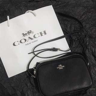 🚚 Coach雙層側背小包❤️全新