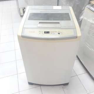 SINGER 8.8kg fully automatic washing machine. 95%ok Good condition one month warntey  01133530275 call me WhatsApp