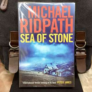 # Novel《Bran-New + Crime Mystery Fiction》Michael Ridpath - SEA OF STONE