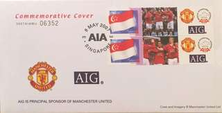 Limited edition Man United Commemorative cover