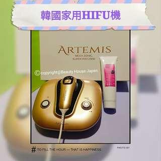 韓國家用HIFU美容機 Artemis 超聲波刀 KFDA認證 安全使用 1次立即見到效果 收緊提升