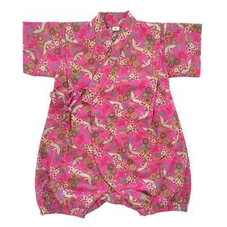 Okiddo Kuren Romper (Golden Pink)