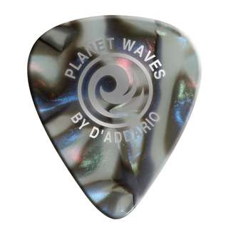 D'Addario Planet Waves Classic Celluloid ABALONE Guitar Picks Plectrums