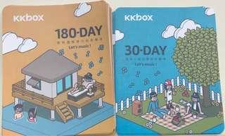 Kkbox 90天、180天序號