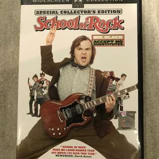 School of Rock (with special features)