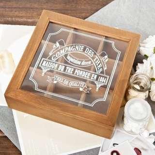實木復古首飾盒收納盒