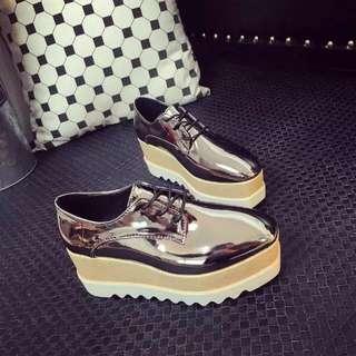厚底鬆糕鞋