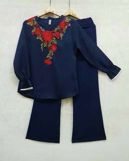 Set Blouse + Palazo