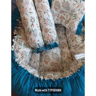 Crib nest Co sleeper