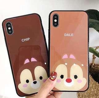 I Phone 7/8 I Phone 7/8 Plus 大鼻鋼牙 chip and dale 手機殼 電話套 case
