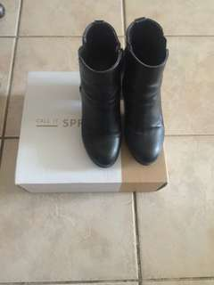 Call It Spring boots size 7