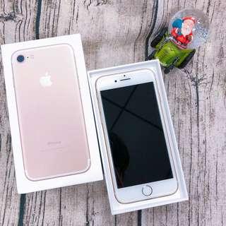 (自售) 9.5新 IPhone 7 / 128G 香檳金 4.7吋