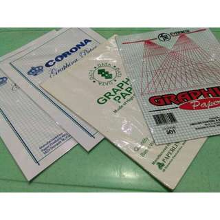 Graphing Paper (4 packs)