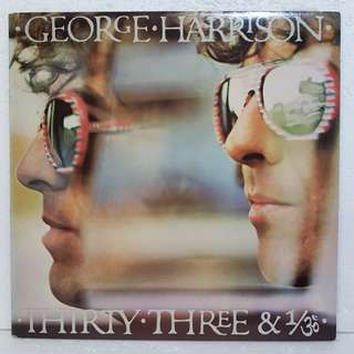 George Harrison - Thirty-Three & 1/3 Vinyl Record