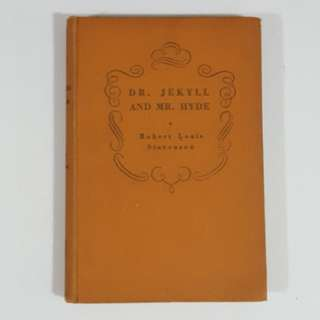 Dr. Jekyll and Mr. Hyde by Robert Louis Stevenson [Hardcover Vintage]