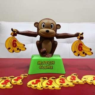 Monkey banana math game