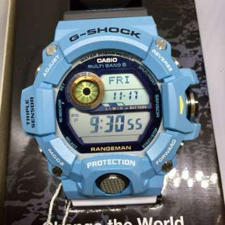 Casio G-Shock x ICERC Love the Sea and the Earth Limited Edition Collaboration Rangeman Watch