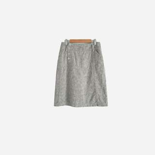 灰色單寧牛仔裙 no.537