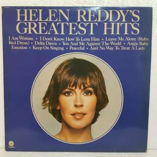 On Hold: Helen Reddy's Greatest Hits Vinyl Record