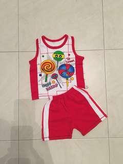 Lollipop Baby Set Clothes