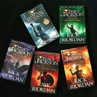 Percy jackson ebook novel komplit