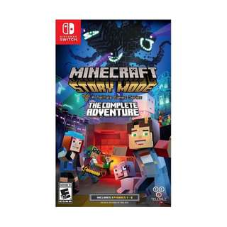 NSW MINECRAFT STORY MODE THE COMPLETE ADVENTURE