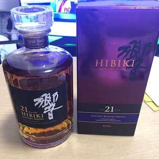 響 21 Hibiki Suntory Whisky