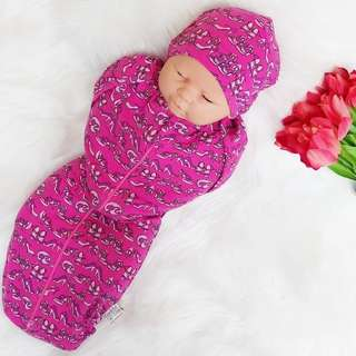 Hybrid Instant Swaddle Pod BarbiePink