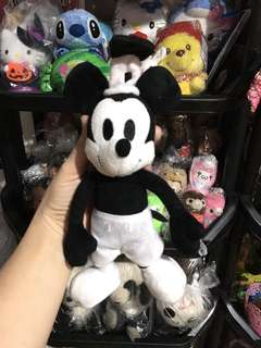 Black and white mickey mouse