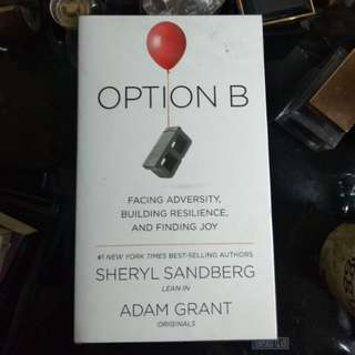 Book: Option B by Sheryl Sandberg