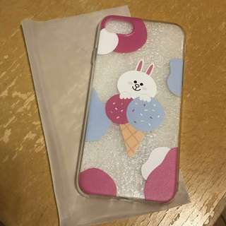 Line cony Iphone7/ 8 case (iphone 7/iphone 8軟殻)