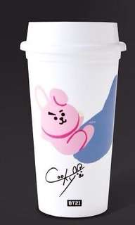 BT21 REUSABLE CUPS