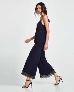 Zara Jumpsuit with Lace details