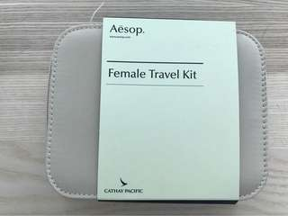 國泰頭等 Aesop female travel kit