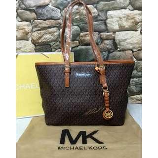 MK Signature Morgan Tote Bag