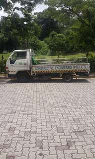 lorry rental (10 feet)