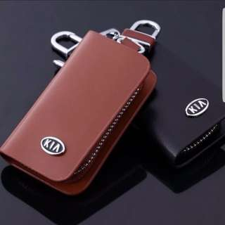 Kia Remote Leather Key Pouch