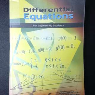 Differential Equations For Engineering Students