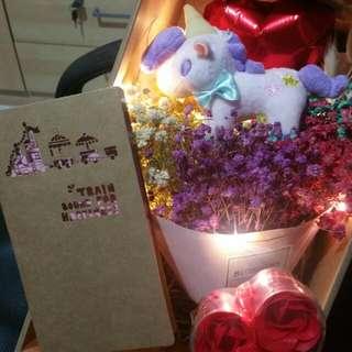 Bundle pack- Unicorn bouquet set